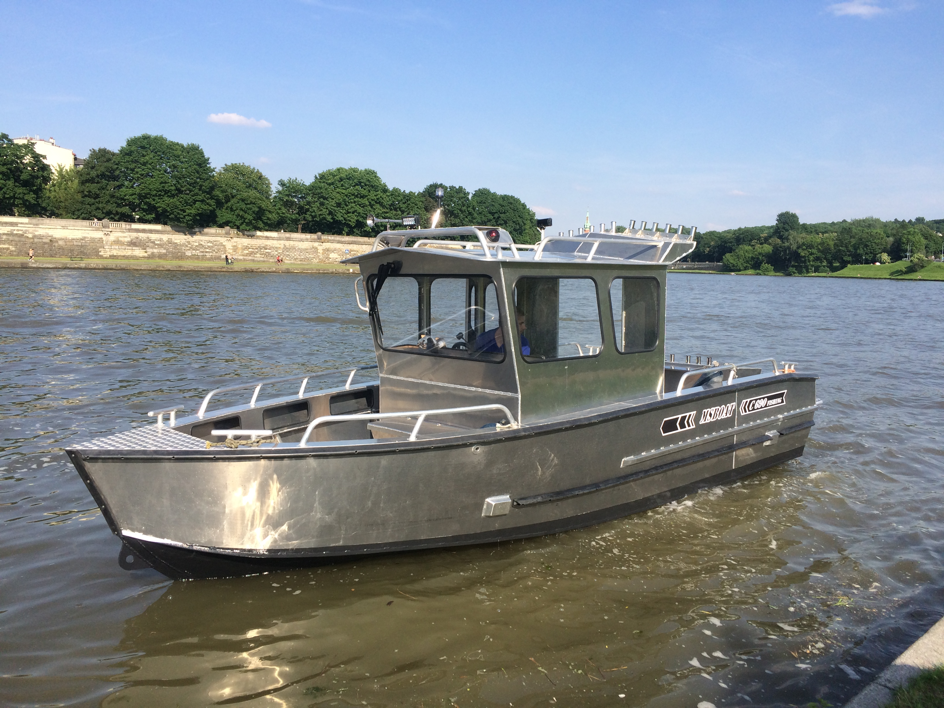 MS Boat :: Home aluminium, work boat, landing craft